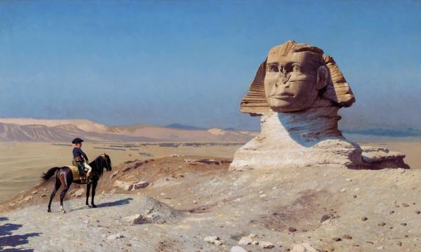 NetzTraktat Napoleon vor der SphinxJ.L. GEROME